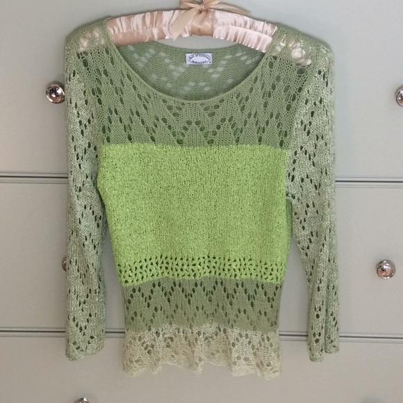 Ball of Cotton crochet sweater
